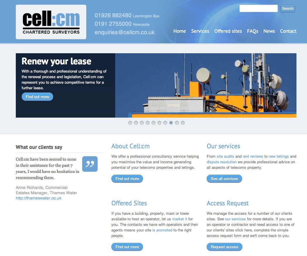 cell:cm website